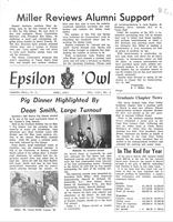 1967 June Newsletter Epsilon (University of North Carolina)