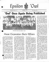 1970 January Newsletter Epsilon (University of North Carolina)