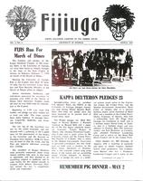 1970 March Newsletter Kappa Deuteron (University of Georgia)