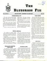 1977 Fall Newsletter Upsilon Kappa (University of Kentucky)