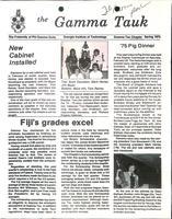 1975 Spring Newsletter Gamma Tau (Georgia Institute of Technology)