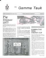 1977 Winter Newsletter Gamma Tau (Georgia Institute of Technology)