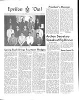 1965 May Newsletter Epsilon (North Carolina)