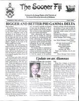 1996 Fall Newsletter Nu Omega (University of Oklahoma)