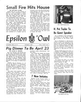 1966 March Newsletter Epsilon (North Carolina)