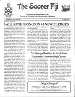 1997 Fall Newsletter Nu Omega (University of Oklahoma)