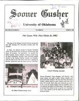 1983 Spring Newsletter Nu Omega (University of Oklahoma)