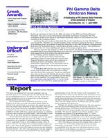 2003 April Newsletter Omicron (University of Virginia)
