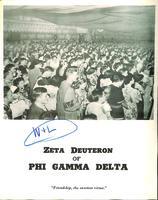 1960 Newsletter Zeta Deuteron (Washington & Lee University)