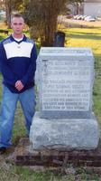 Daniel Webster Crofts' (Jefferson College 1848) Graveside: University of Evansville...