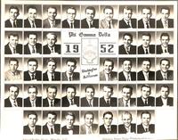 Washington & Jefferson College Composite for 1952
