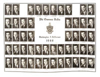 Washington & Jefferson College Composite for 1960