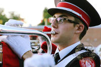 Brett Bejcek (Ohio State University 2017) Member of OSU Marching Band
