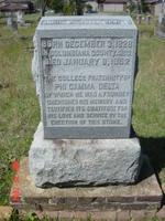 Daniel Webster Crofts' (Jefferson College 1848) Gravesite