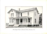 Chapter House at Delta Kappa at Davidson College c. 1927