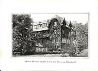 Chapter House at Omicron Deuteron at Ohio State University c. 1927
