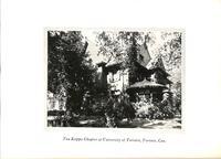 Chapter House at Tau Kappa at University of Toronto c. 1927