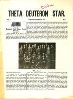 1910 Winter Newsletter Theta Deuteron (Ohio Wesleyan University)