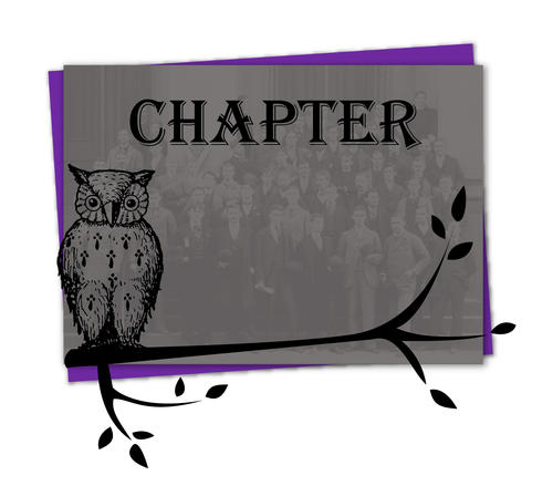 The Pi chapter was founded on June 5, 1860 at Allegheny College.  They then ceased August 1, 1998.  On October 4, 2014 they rechartered. The chapter is located in Meadville, Pennsylvania.  October 4, 2014 Rechartering  Ritualist: Ed Gabe (Hanover 1990)  President:	Brylan May (Case Western 2016) Treasurer:	Omashola Ekperigin (Washington & Jefferson 2017)	 Recording Secretary:	Samuel Haese (Case Western 2013) Corresponding Secretary: Josh Corignani (Washington & Jefferson 2017) Historian:	Eric Rauert (Case Western 2016)  Legate: Apollo Hrehorovich (Allegheny 1991)
