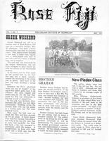 1971 May Newsletter Rho Phi (Rose-Hulman)