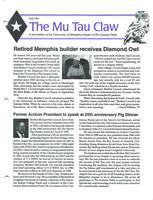 1996 Fall Newsletter Mu Tau (University of Memphis)